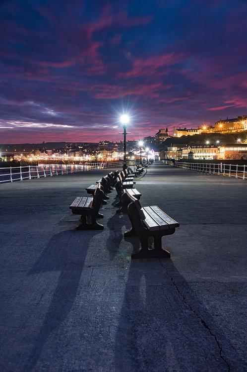 Pier walk PRINT