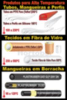 Hortobor Produtos para Altas Temperatura, tubos e mangueiras em silicone, tubo e mangueiras em teflonº PTFE, tubos e mangueiras em borracha epdm e nbr nitrilica, lençol de fibra de vidro com teflon para seladoras de plastico, tecido de fibra de vidro, perfis de silicone para autoclaves, perfis de silicone para porta de forno,