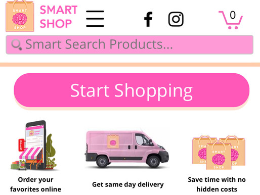 Smart Shop Celebrates New Website