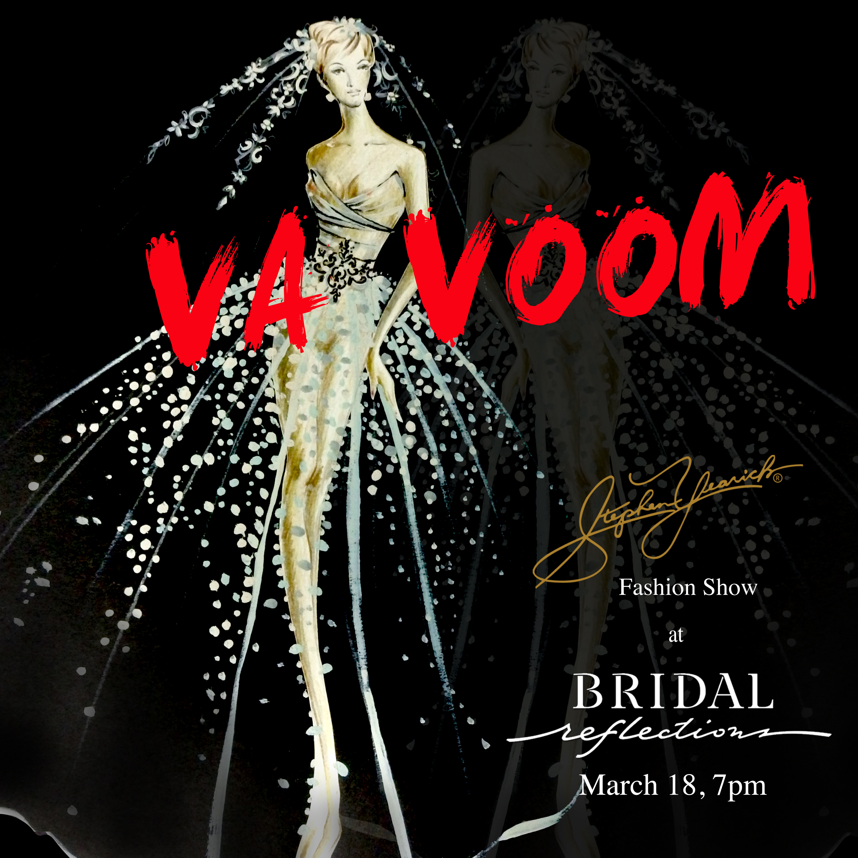 Fashion Show at Bridal Reflection