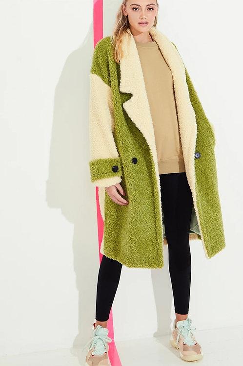 Faux Fur Shearing Coat