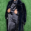 Thumbnail: Faux Fur And Faux Suede Panelled Coat