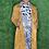 Thumbnail: Faux Suede Snake Print Coat