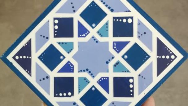 סדנה לעיצוב אריחים מרוקאים - זואק