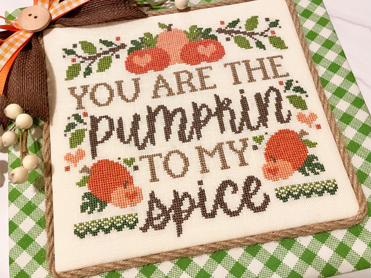 THE PUMPKIN TO MY SPICE