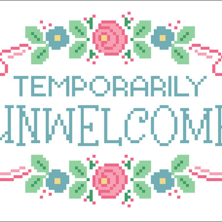 FREEBIE: TEMPORARILY UNWELCOME