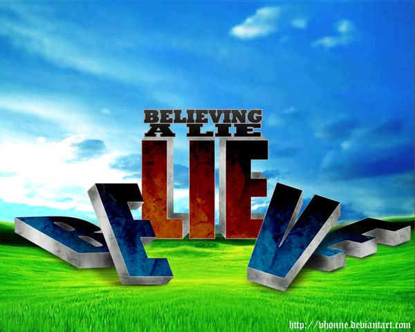Frykt er å tro en løgn