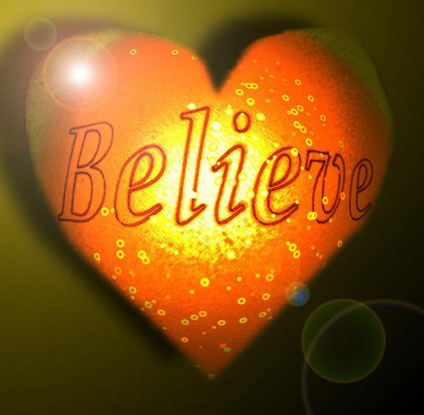Å tro med hjertet