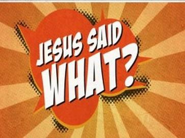 Men Jesus sa det jo?
