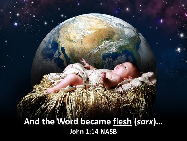 Guds Ord ble et menneske..