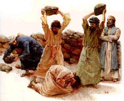 Jesus og steiner
