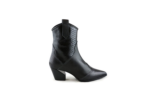 Bottines hautes Santiag