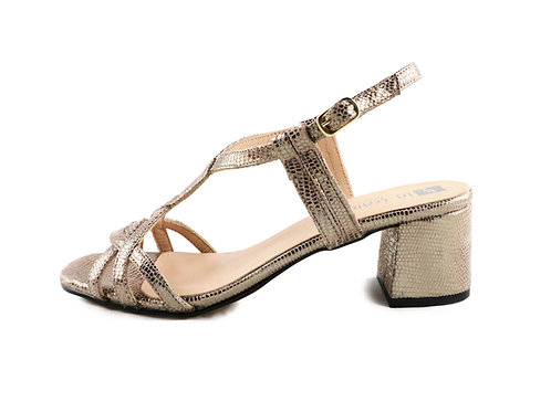 Sandales lézard