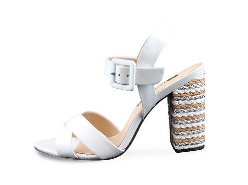Sandales talons corde