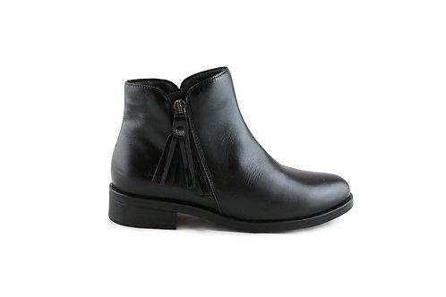 Boots basses en cuir