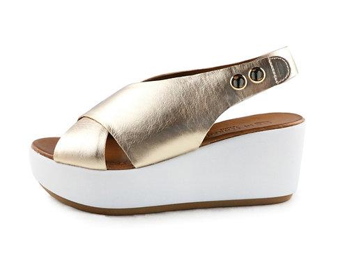 Sandales à plateforme compensée