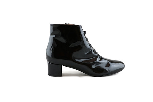 Boots vernis noir