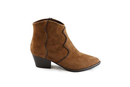 Boots Santiag en daim