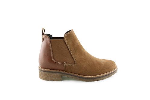 Boots bi-matières