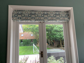 Roman Blind - Siting Room