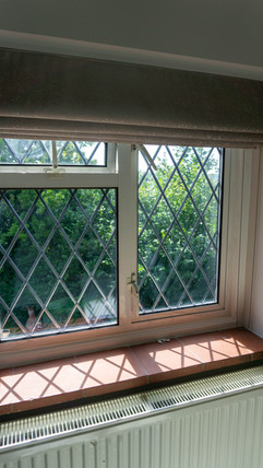 Lined Roman Blind