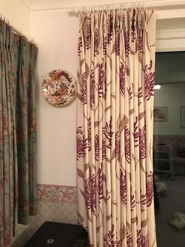 Bespoke Fabric - Pinch Pleat floor length