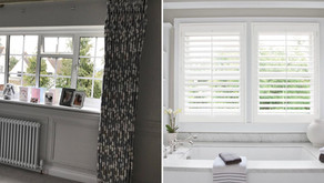 Pros & Cons for Shutters vs. Curtains
