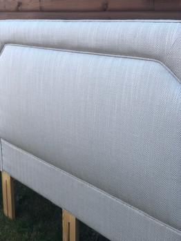 Laura Ashley fabric - Reupholstered headboard