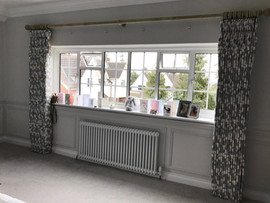 Reigate - Double Pinch Pleat Handsewn Floor Length Curtains