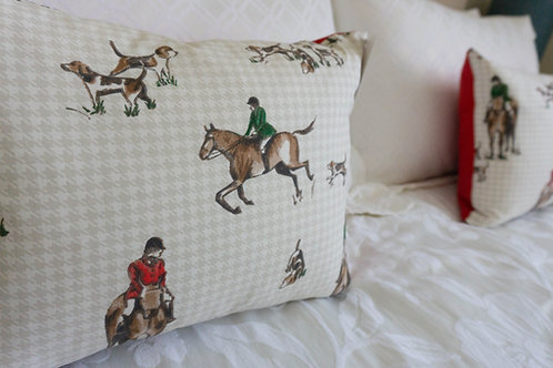 Horse and Hound Cushion