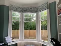 Roman Blinds - Bay Window