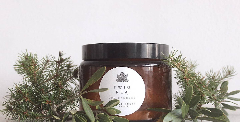 Pine Soy Candle | Extra Large