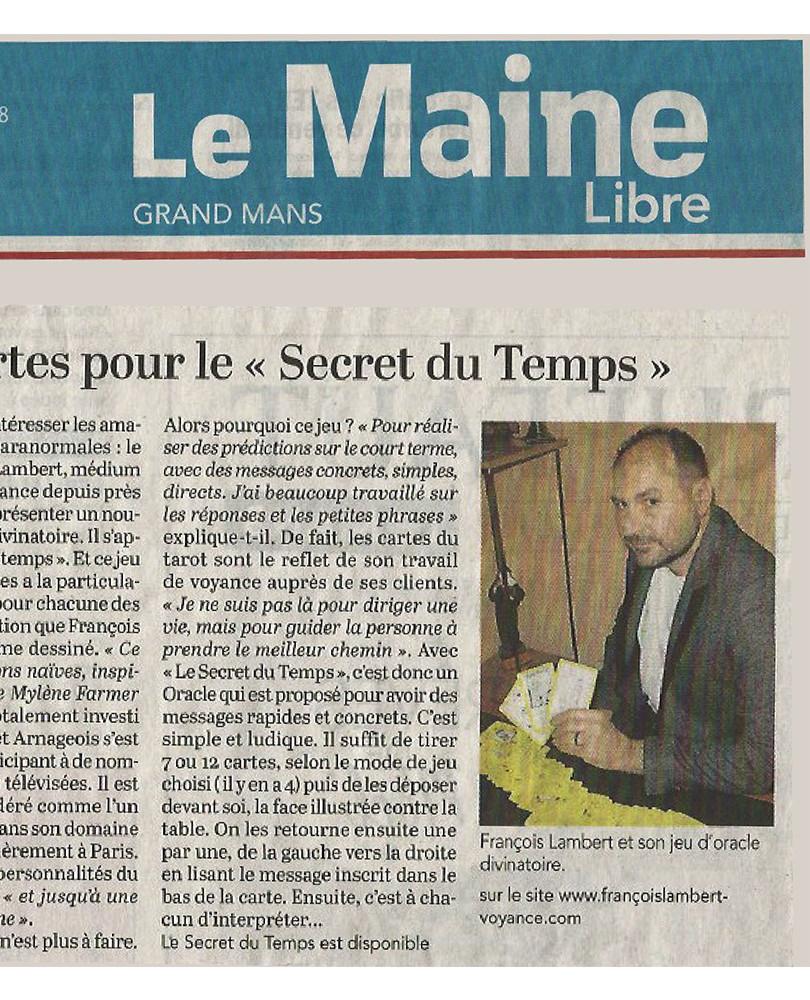 MAINE LIBRE. françois lambert