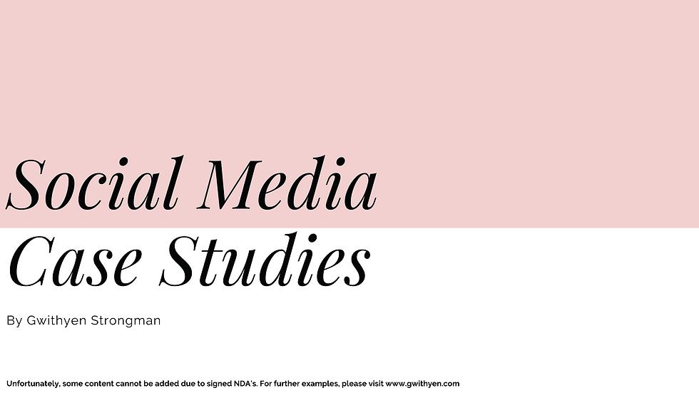 Social Media Case Studies - Gwithyen Str