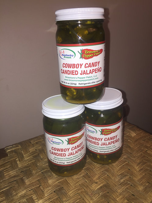 Cowboy Candy Candied Jalapeno