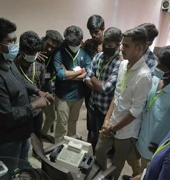 Comprehensive biomedical engineering training in Tamilnadu