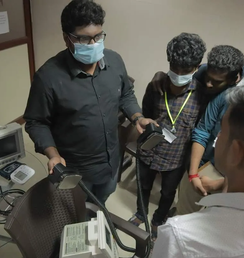 Critical care devices training in Chennai
