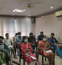 Sanitised, safe and secure training in Chennai