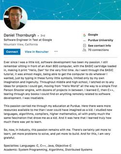 Daniel-Thornburgh Linkedin Bio