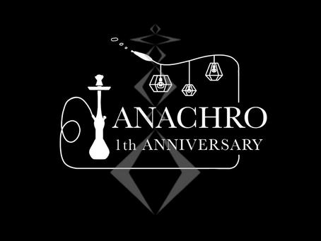 祝 1周年 札幌シーシャ ANACHRO