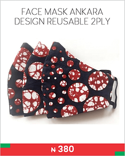 FACE MASK ANKARA DESIGN REUSABLE 2PLY.pn