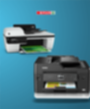 Deskjets, Laserjets, 3-in-1 printers, or larger printers for office use are all on display, with all the supporting drivers and ink cartridges to go with it.