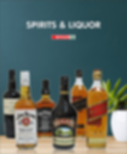 Whiskeys, vodkas, cream liquors, and other spirits are all available at unbeatable prices.