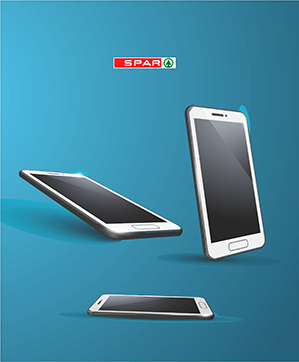 Whether your an iPhone lover or Android, SPAR has all the latest smartphones from all the best brands in the world. What ever your budget may be, there's a phone for you at store, and our helpful staff are there to help you find it.