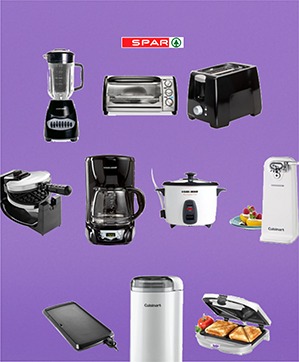 Complete your home with all the kitchen appliances you need to prepare your favorite meals and make your life easier. Blenders, toasters, microwave ovens, hand blenders, and all other appliances are on display for you to test and choose from.
