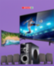 Take your home viewing experience to a whole new level! LED TV's, projectors, monitors, and other home theatres from the best brands including LG, Samsung, Sony, TCL, and many more!