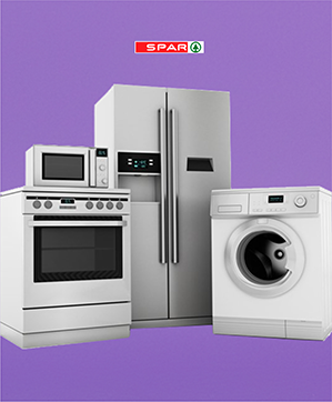 Refrigerators, deep freezers, washing machines, dryers - everything you could need to keep your home functioning and running.