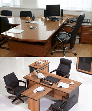 We offer both standard, and made-to-order office furniture. Whether you've got a work space for ten people or a thousand, we can customize desking, conference, and storage solutions at the highest quality to get your work place up and running. Our office furniture solutions follow the principles of functionality, ergonomics, and space management to get the most out of your work space.