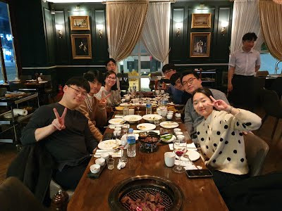 2019 Year-end party at Songdo