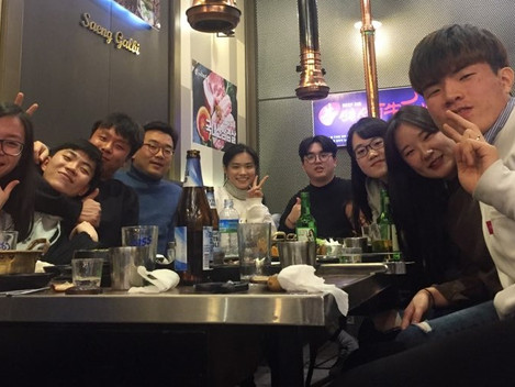 2018 Year-end party at Songdo